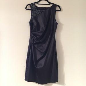 Eliza J Navy Cocktail Dress